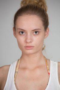 Katarzyna Skowronek-Ajchestet, modelka Karolina Bereta, fotograf Jacek Bakutis