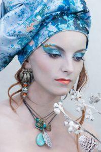 Katarzyna Skowronek-Ajchestet, modelka Marta Pinas fotograf Ola Czemko
